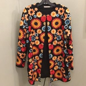 Embroidered jacket/coat